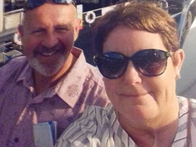 Marjorie & Barry from El Pinar de Campoverde, Spain