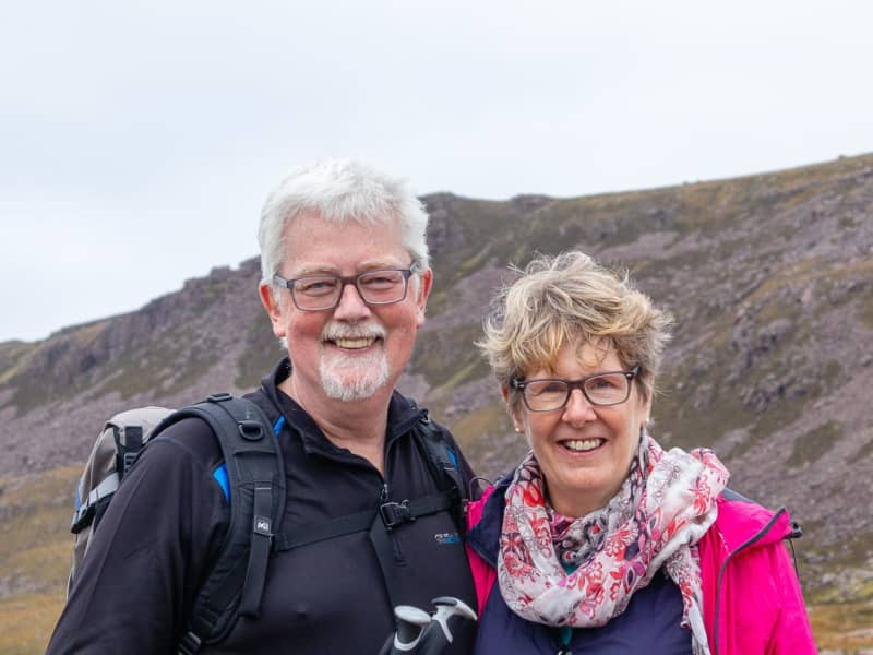 Viveca & John from Gairloch, United Kingdom