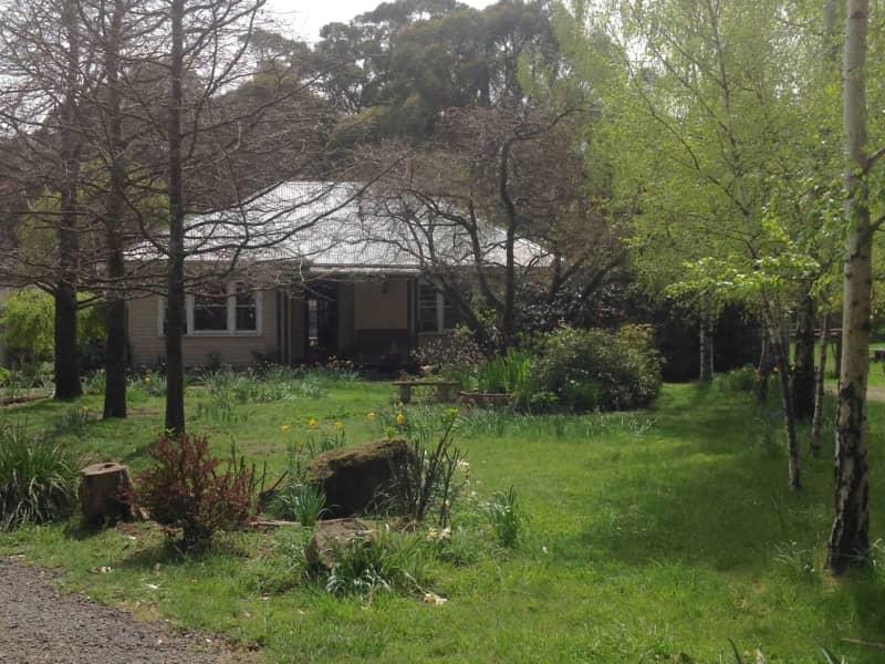Housesitting assignment in Trentham East, Victoria, Australia