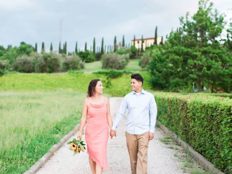 Briana & Javier from Florence, Italy