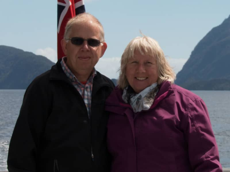 Steve & Christine from Coventry, United Kingdom