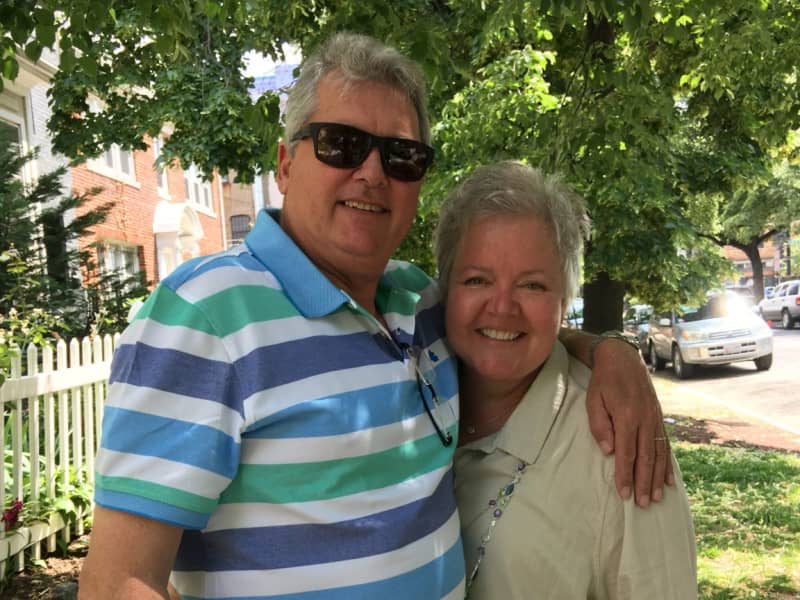 Janet & Charles from Rose Hill, Kansas, United States