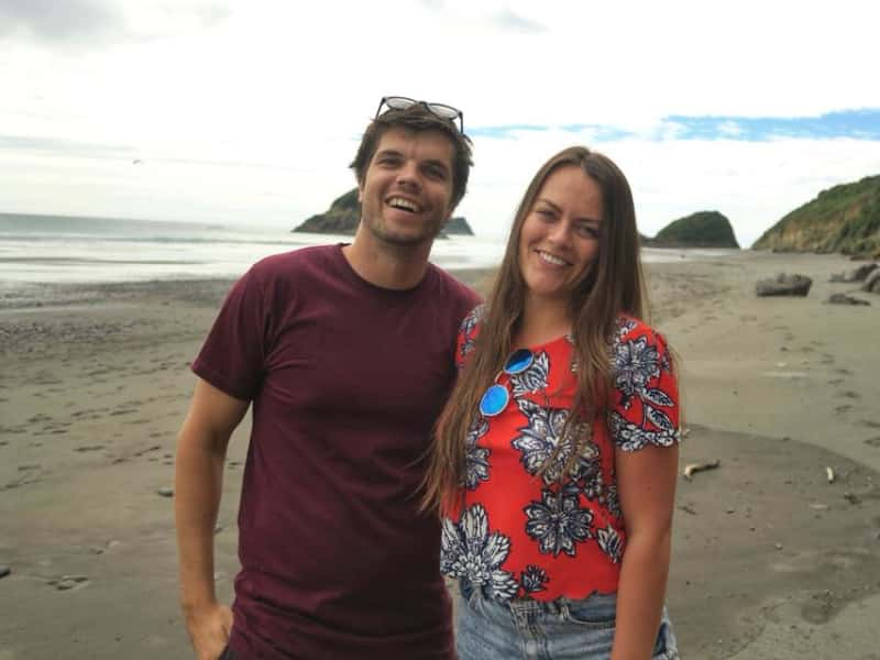 Hannah & Nathan from Mount Maunganui, New Zealand