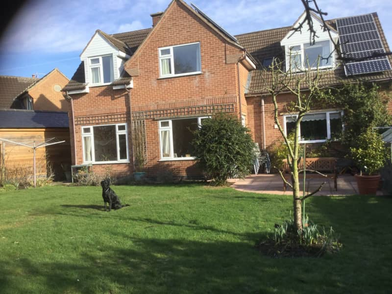 Housesitting assignment in Loughborough, United Kingdom