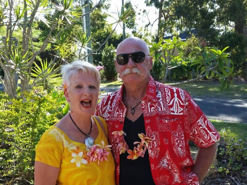 Carol & Laurence from Brisbane, Queensland, Australia