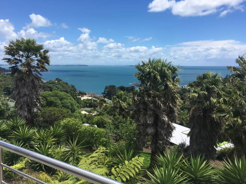 Housesitting assignment in Oneroa, New Zealand