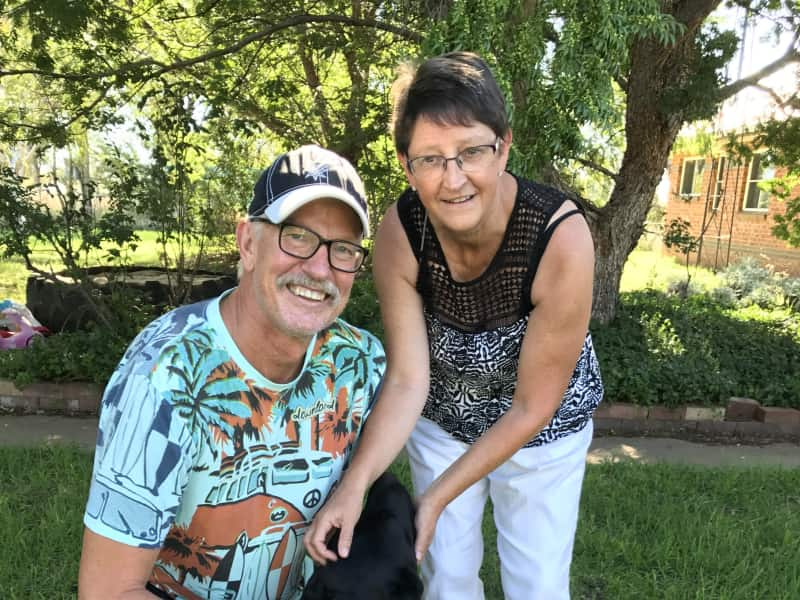 Colin & Colleen from Inverell, New South Wales, Australia