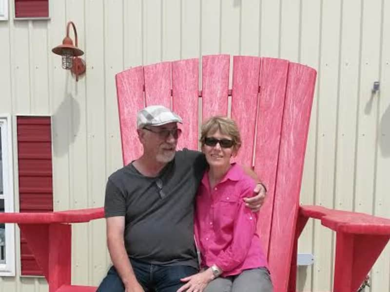 Howie & Gloria from Collingwood, Ontario, Canada