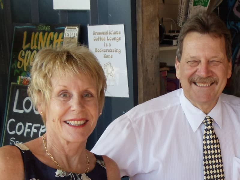 Barbara & Allan from Cairns, Queensland, Australia