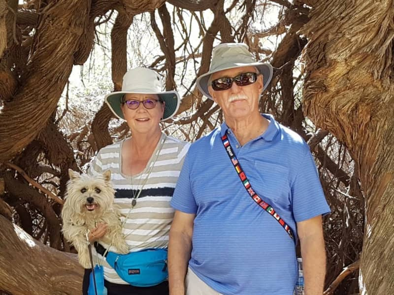 Karen & Francis from Regina, Saskatchewan, Canada