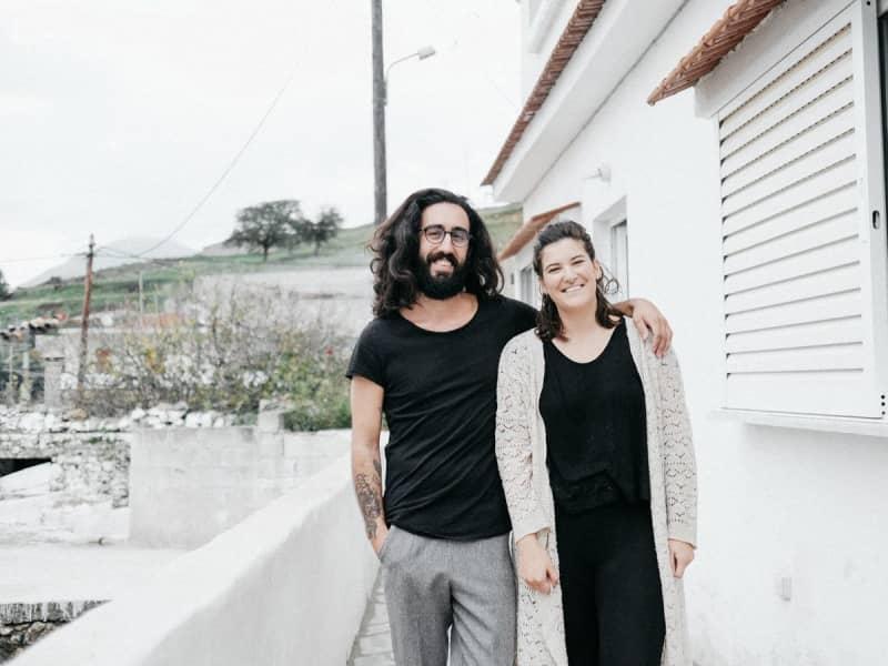 Linda & David from Mourné, Greece