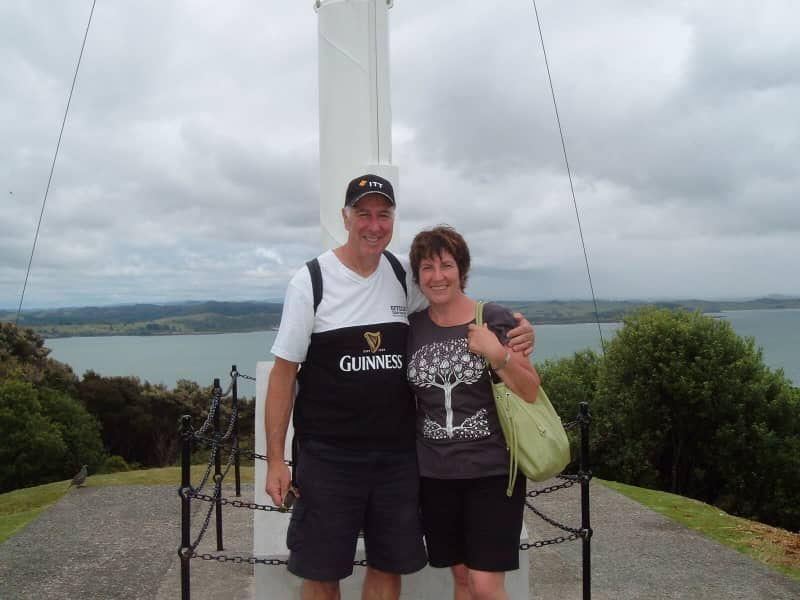 Gwenda & Keith from Dunedin, New Zealand