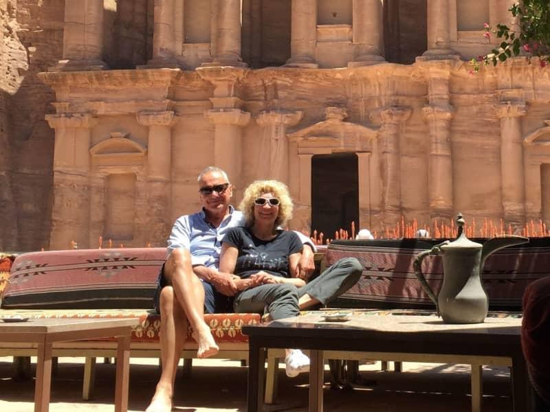 Robert & Daniela from Séez, France