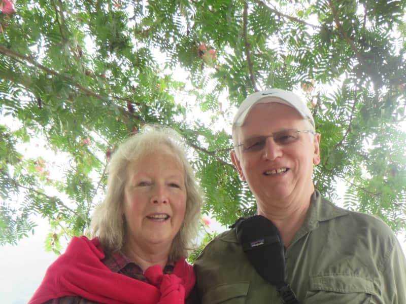 Shirley & John from Hereford, United Kingdom