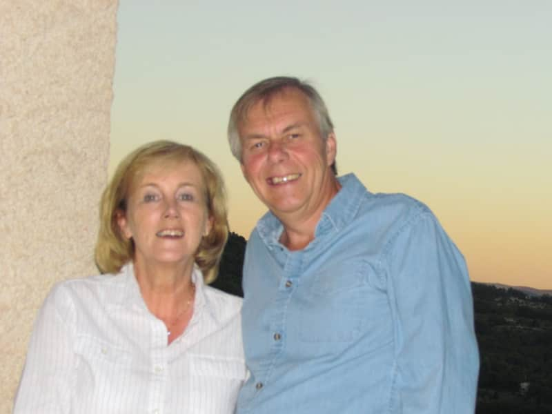 Sheila & Murray from Eyrenville, France