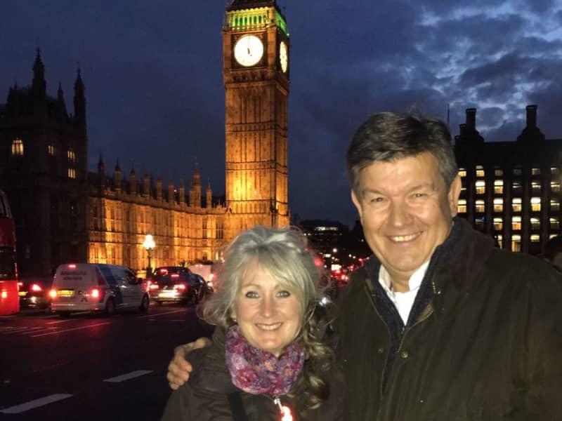 Mark & Sue from Warwick, United Kingdom