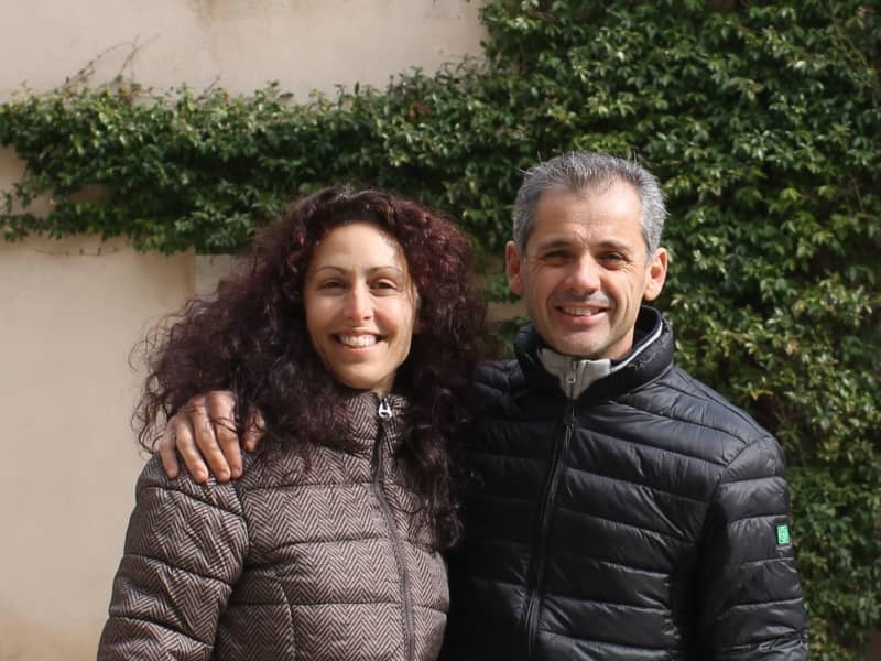 Katia & Norman from Pordenone, Italy