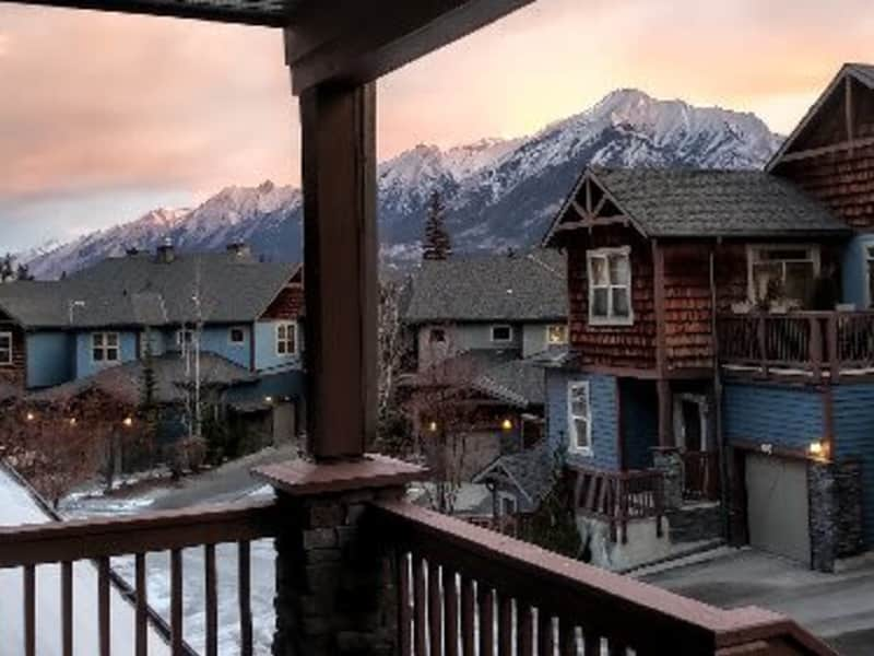 Housesitting assignment in Canmore, Alberta, Canada