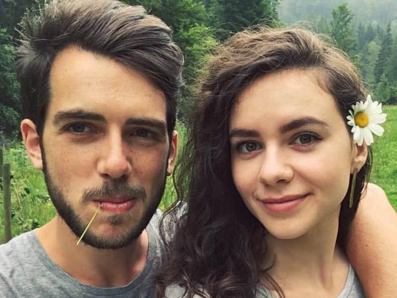 Imogen & Josh from Brunnadern, Switzerland