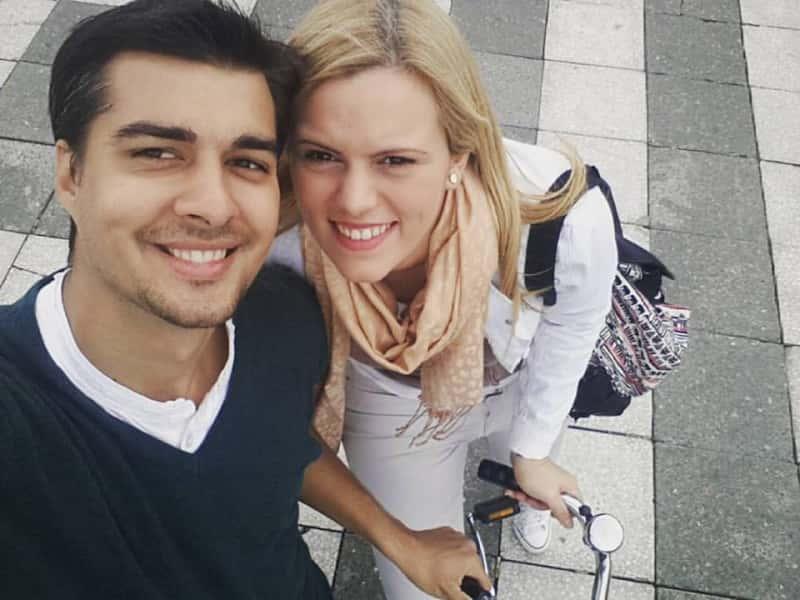 Pedja & Svetlana from Rome, Italy