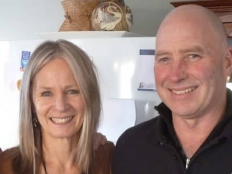 Barb & Pete from Auckland, New Zealand