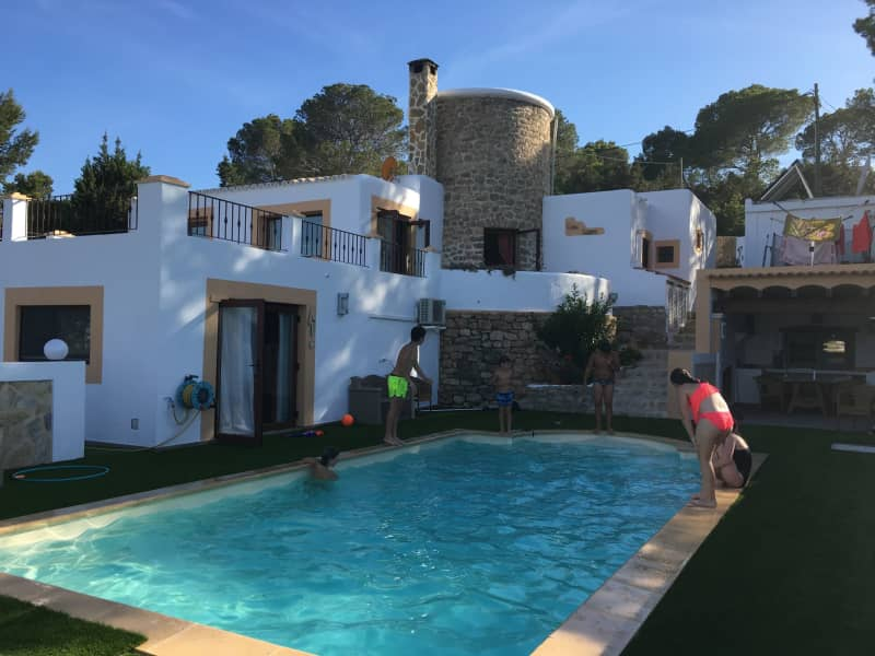 Housesitting assignment in Cala de Portinatx, Spain