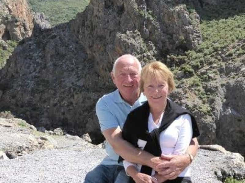 Brian & Carolyn from Pyrgos, Cyprus