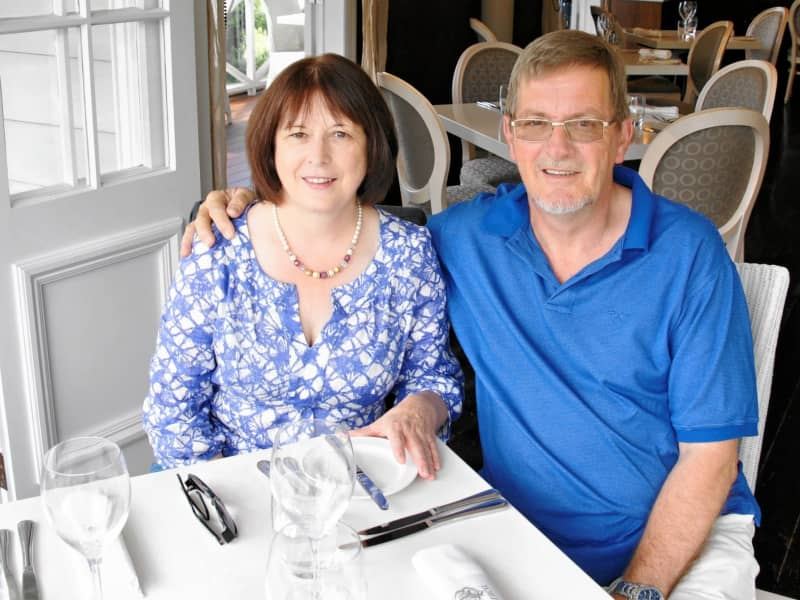 Andrew & Dorothy from Alderley Edge, United Kingdom