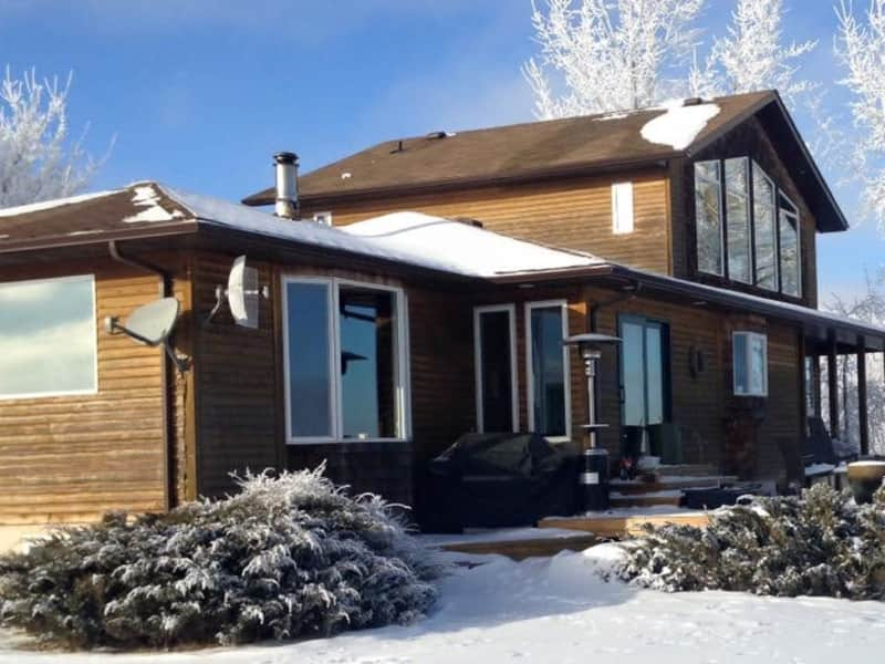 Housesitting assignment in Oxbow, Saskatchewan, Canada
