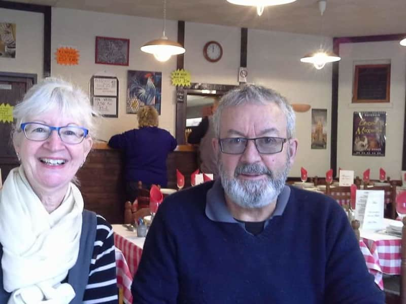 Val & Tony from Tauranga, New Zealand