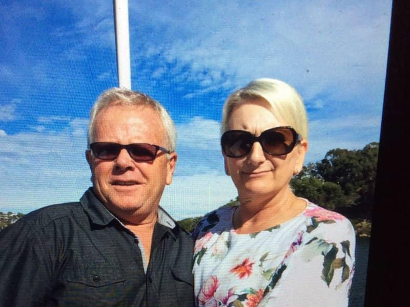 Kevin & Denise from Bunbury, Western Australia, Australia
