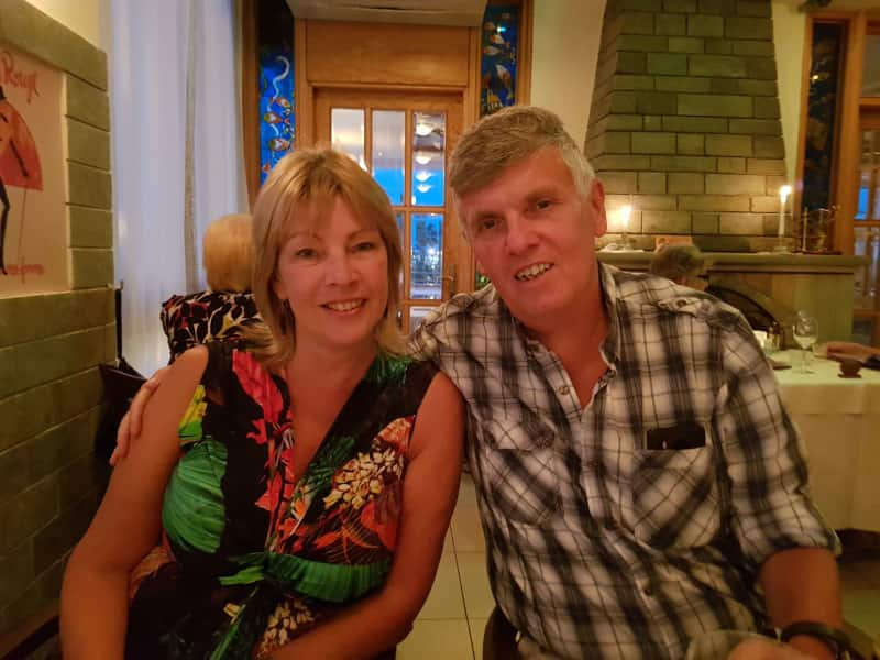 Gill & Stephen from Sheffield, United Kingdom