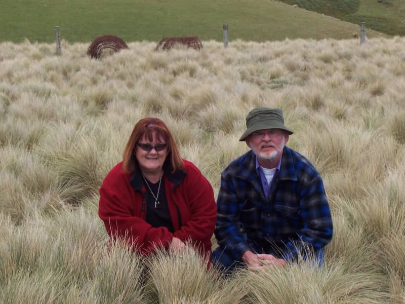 Betty & Geoff from Wellington, New South Wales, Australia