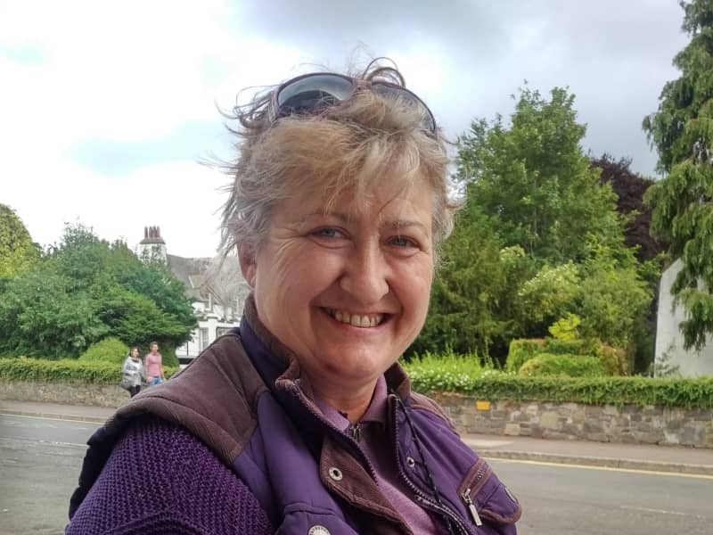 Alison from Hawick, United Kingdom