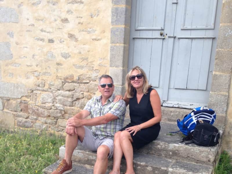 Sallyanne & Julian from Josselin, France