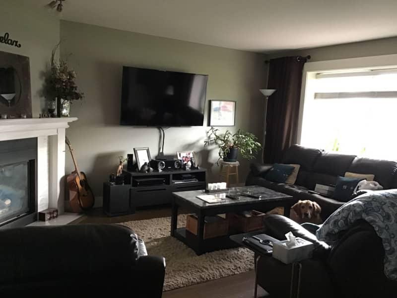 Housesitting assignment in Maple Ridge, British Columbia, Canada