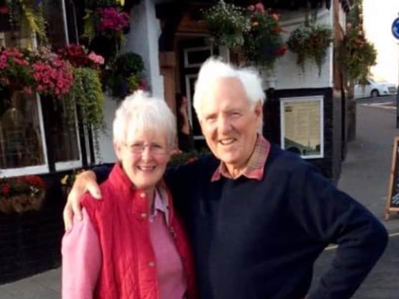 Veronica & John from Peebles, United Kingdom