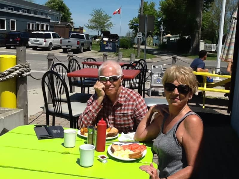 Deborah & Robbie from Windsor, Ontario, Canada