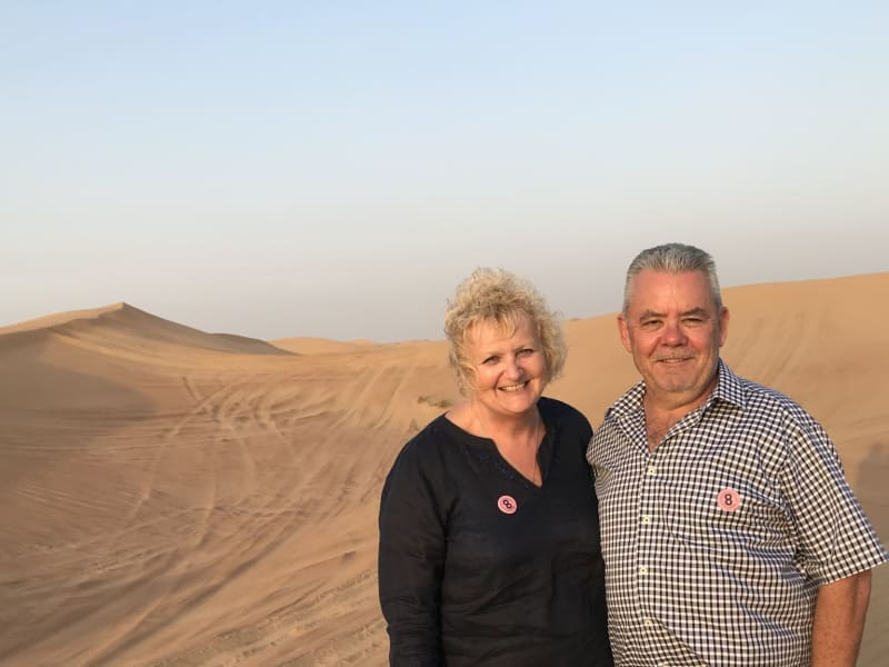 Carol & warren & Warren from Tanunda, South Australia, Australia