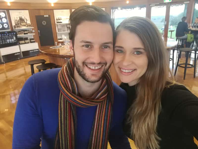 Nick & Amy from Adelaide, South Australia, Australia