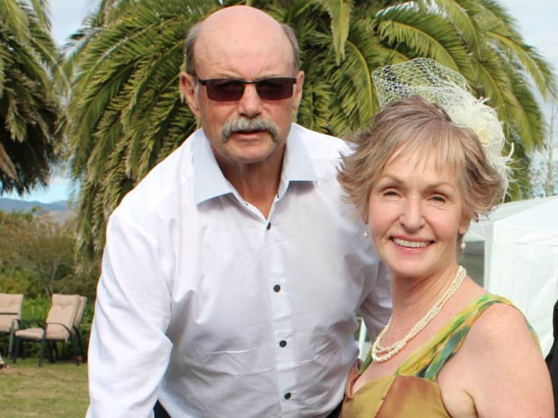 Maree & Graham from Levin, New Zealand