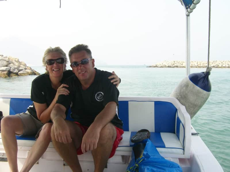 Gary & Lyn from Bédar, Spain