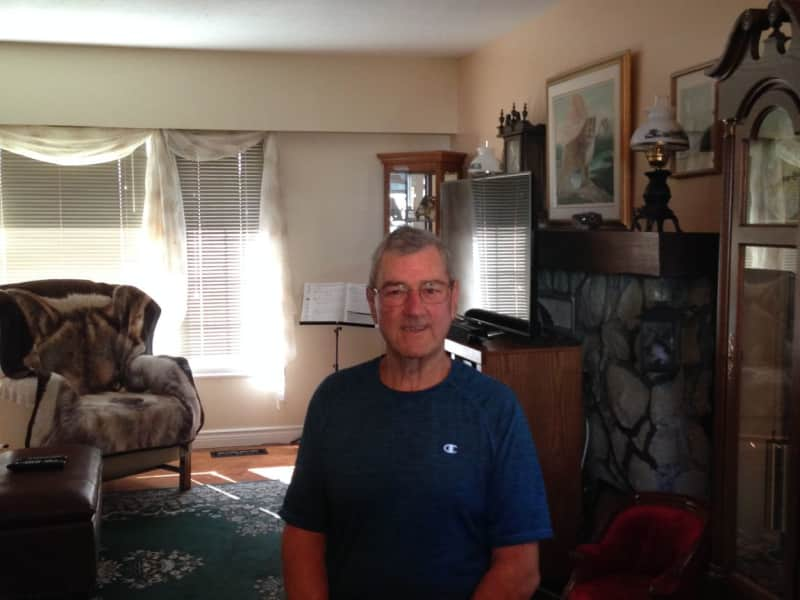 James from Courtenay, British Columbia, Canada