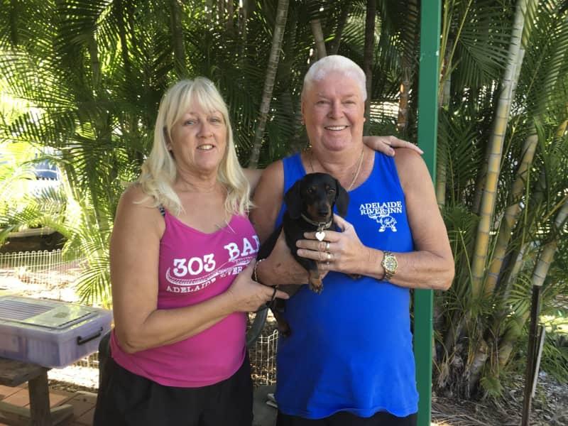 Laurie & lorraine & Lorraine from Wahgunyah, Victoria, Australia