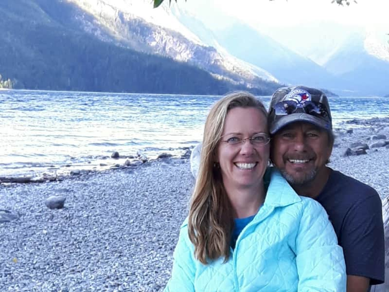 Gina & John from Monarch, Alberta, Canada