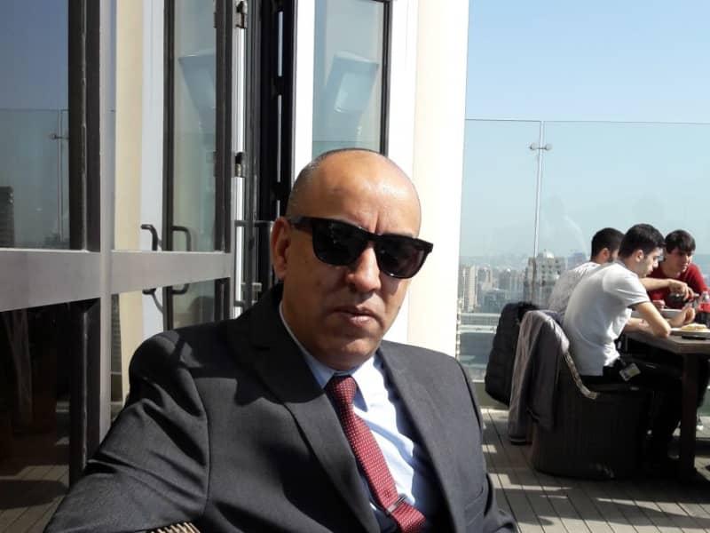 Neville from Baku, Azerbaijan
