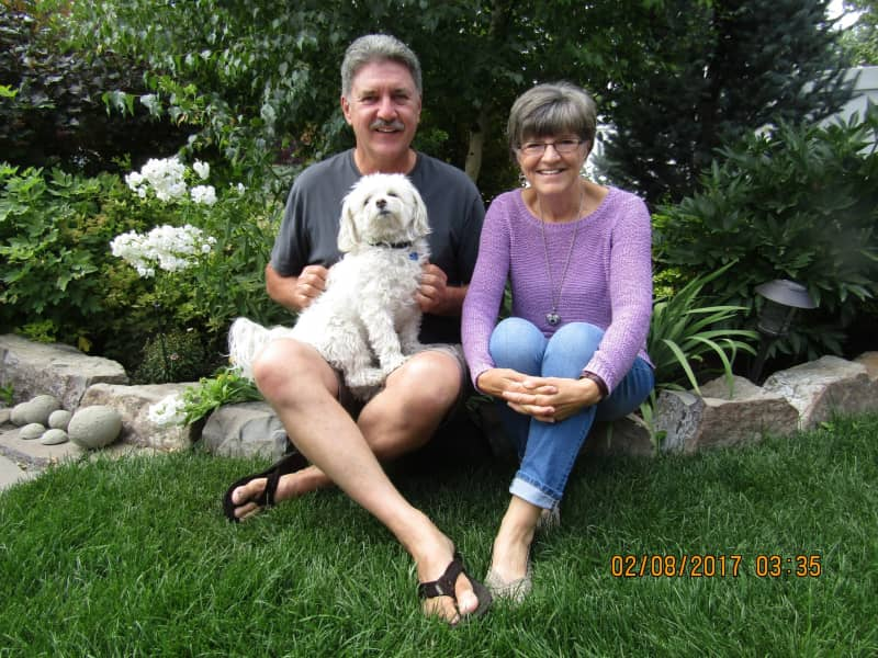 Cathy & Ed from Calgary, Alberta, Canada