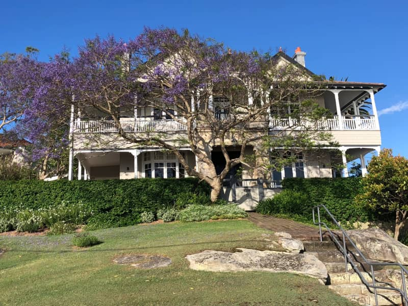 Housesitting assignment in Greenwich, New South Wales, Australia