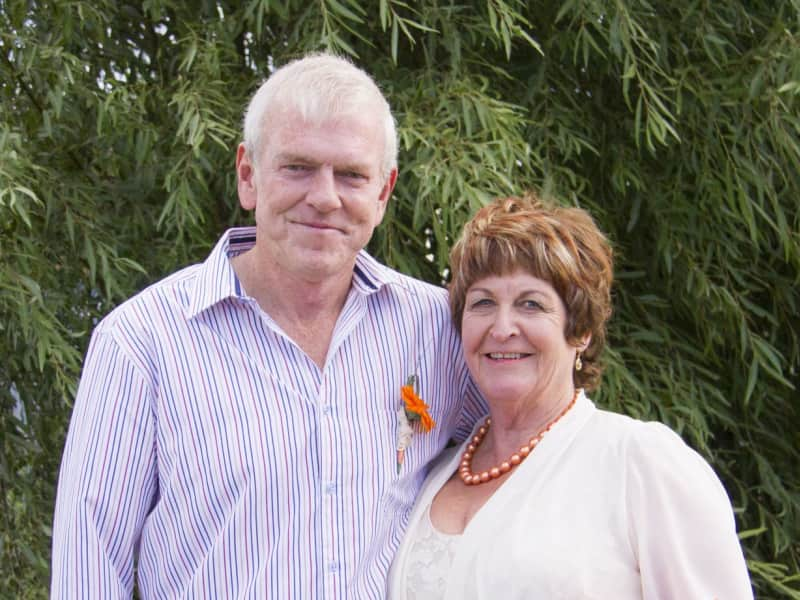 Cheryl & Graham from Timaru, New Zealand