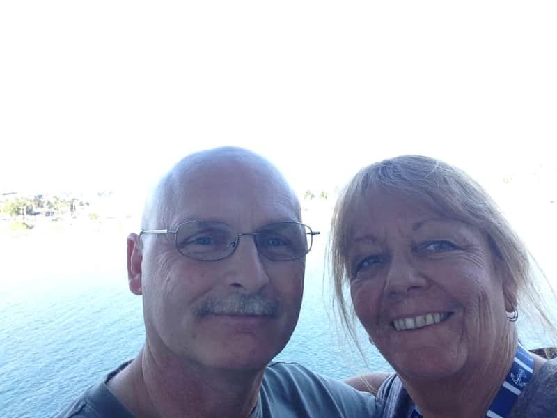 Gillian & Maurice from Penetanguishene, Ontario, Canada